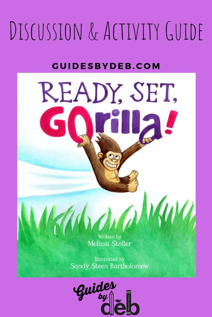 Reading And Activity Guide For Ready Set Gorilla Guides By Deb