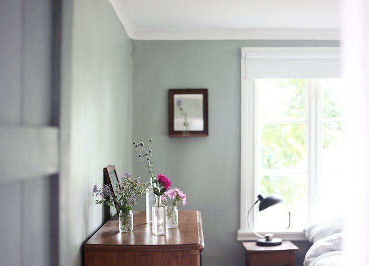 inredning, torp, Gotland, summerhouse, interior, bedroom | Emmas Vintage