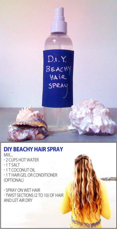 DIY beach spray