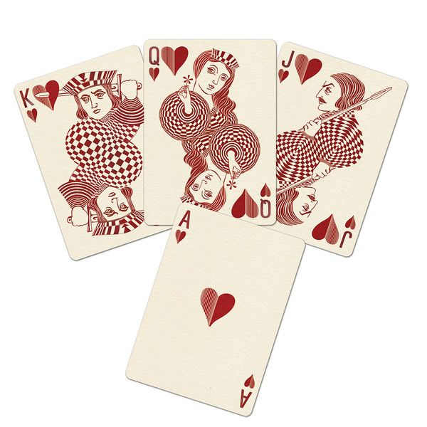 royal optic playing cards | uusi