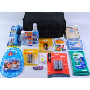 Essential Cruise Supplies-Expandable travel size bag with detachable compartments and handle
