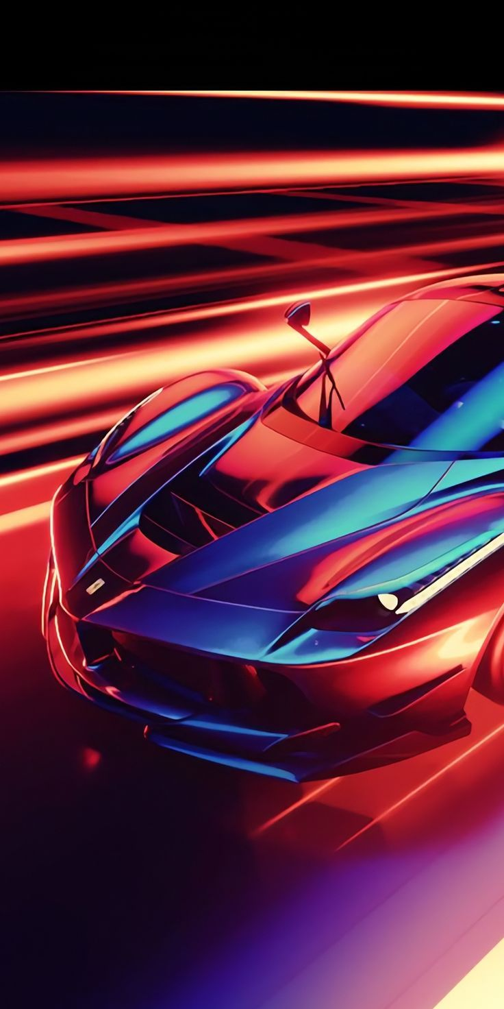 Stirring Impressive Formidable Wallpaper Cgi Art Ferrari