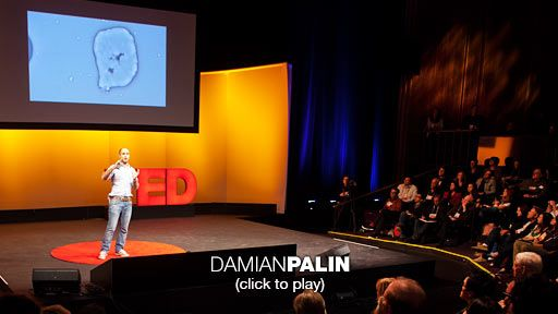 Damian Palin: Mining minerals from seawater  The world needs clean water, and more and more, we're pulling it from the oceans, desalinating it, and drinking it. But what to do with the salty brine left behind? In this intriguing short talk, TED Fellow Damian Palin proposes an idea: Mine it for other minerals we need, with the help of some collaborative metal-munching bacteria.