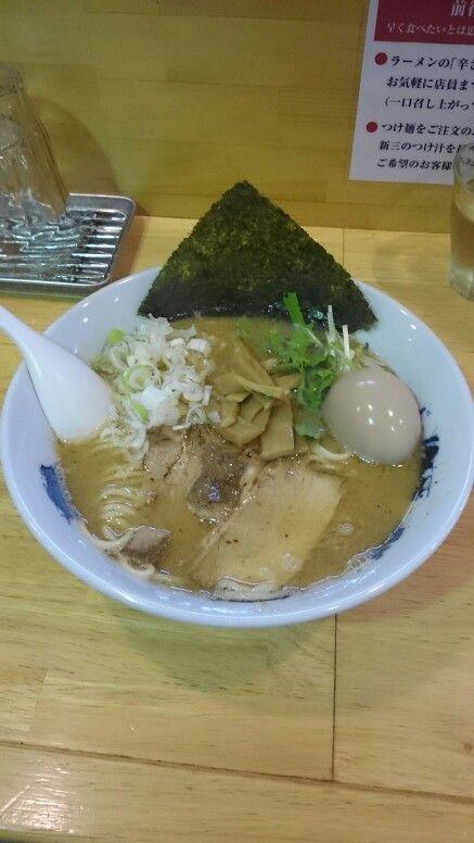 中華そば(しょうゆ)  2014.8.10  酒田市 新三