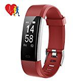 Fitness Tracker, Mpow Activity Tracker Heart Rate Monitor with 14 Exercise Modes Sleep Monitor with GPS Route Tracking Pedometer Step Counter with 4 Watch Faces for Android or iOS Smartphones, Red - https://www.trolleytrends.com/?p=765663