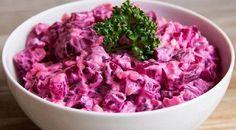 Свекольный салат для гурманов. Такая заправка делает из овощей королевское блюдо!