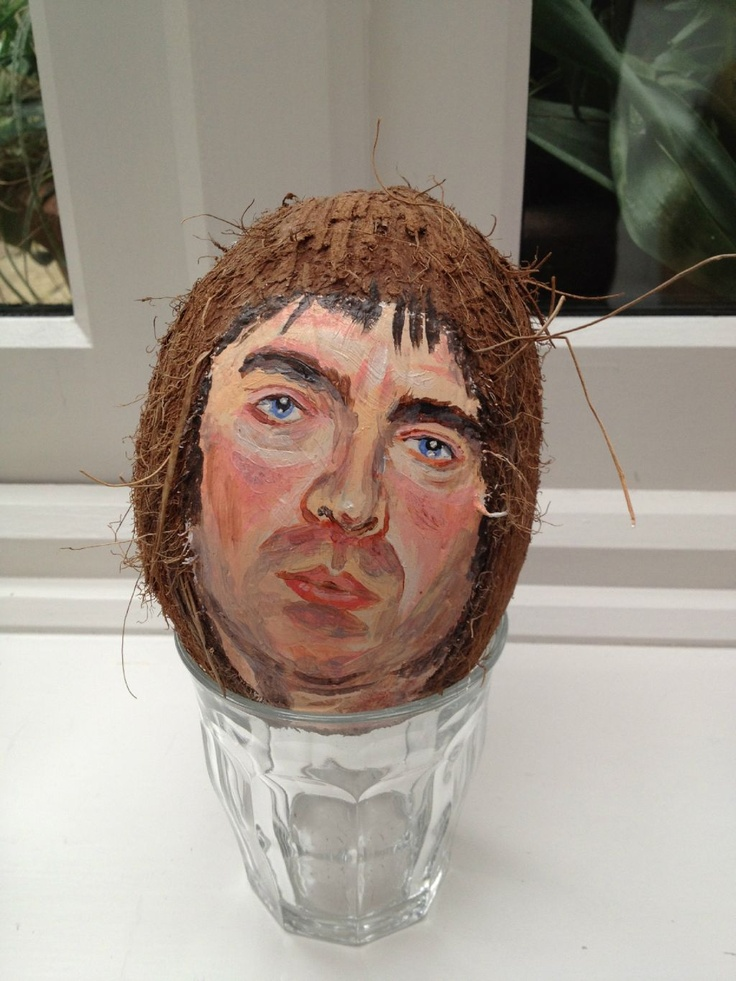 "Noel ""Coconut"" Gallagher. Just the weirdest thing I've seen in a while"