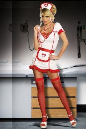 3pc Nurse Juana B. Sedated Costume