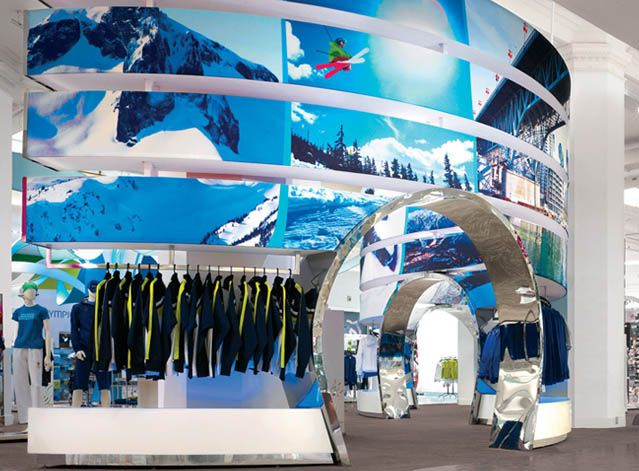 Sporting Goods Retail Design Inspiration