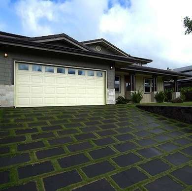 Basalt Paver Tiles Basalt is an igneous rock that makes up most of the earth's oceanic crust. Hard, dense, and durable, it's a beautiful natural paver stone in patios, walks, and driveways. Resilient and naturally beautiful, basalt's rectilinear geometry and gray-to-black color palette make it a suitable visual complement to modern architecture.