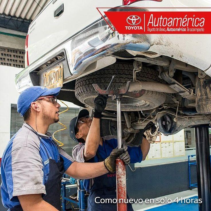 En algún momento tienes que sacar el tiempo que tu #Toyota necesita. Con nuestro servicio de #QuickRepair ¡solo necesitarás cuatro horas para que quede como nuevo! Pide tu cita en el 444 11 21.