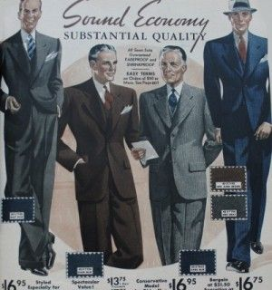 1930s Men's fall suit colors