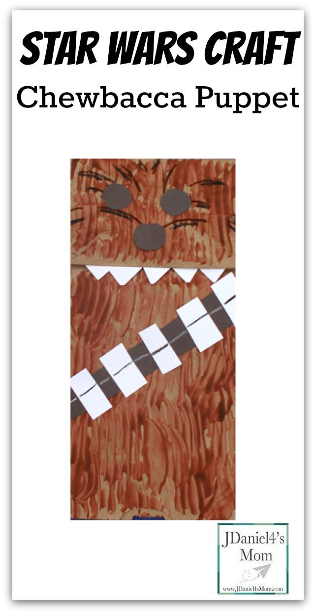 This post shares directions for creating a Chewbacca puppet, fun Chewbacca sounds to make, and fun Star Wars books Chewie can read with your children.