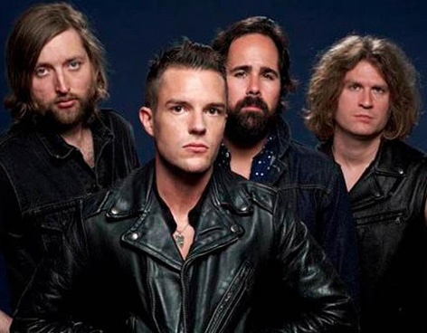 204 best welcome to fabulous las vegas images on pinterest brandon flowers the killers and The killers madison square garden