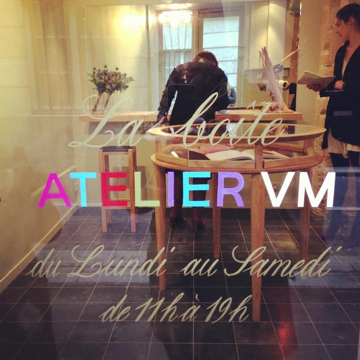 Atelier VM a Paris!!!