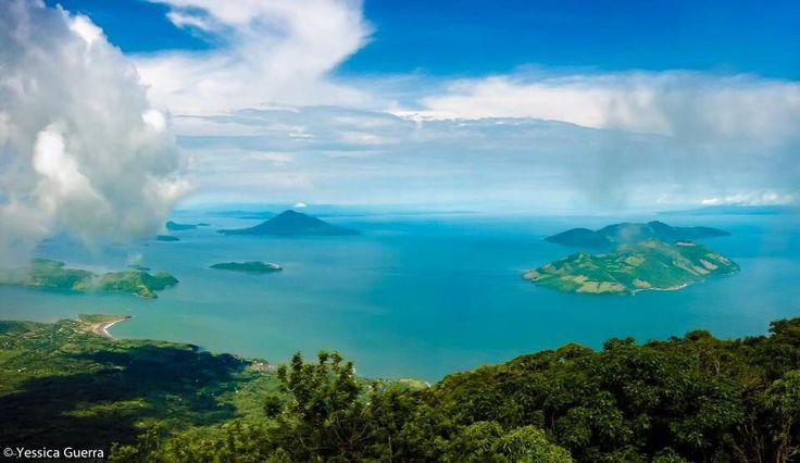 Golfo de Fonseca. Visto desde el Volcán de Conchagua, La Unión.