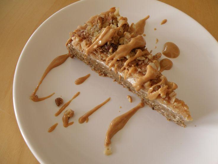 Ořechovo-jablečný fit koláč. Autor: Peteroka