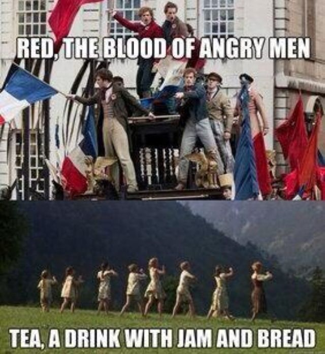 What would happen if someone put Les Mis and Sound of Music together---- I call it Miserables of Music.
