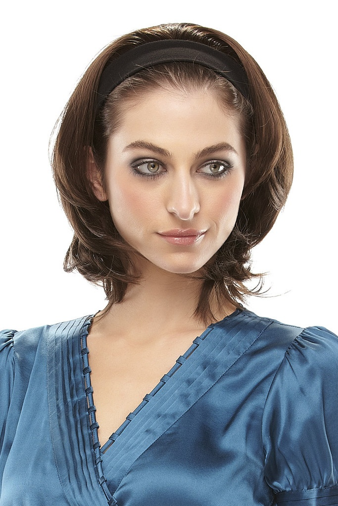 Escape by easiHair - Headband Hair Extensions - This is a perfect way to add volume and cover thinning areas on the crown.   WigStudio1.com