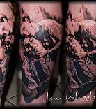 Black and Grey portrait and realistic tattoos, best portrait tattoos, best portrait and realistic tattoos, Detroit Michigan, best tattoo artist in Michigan
