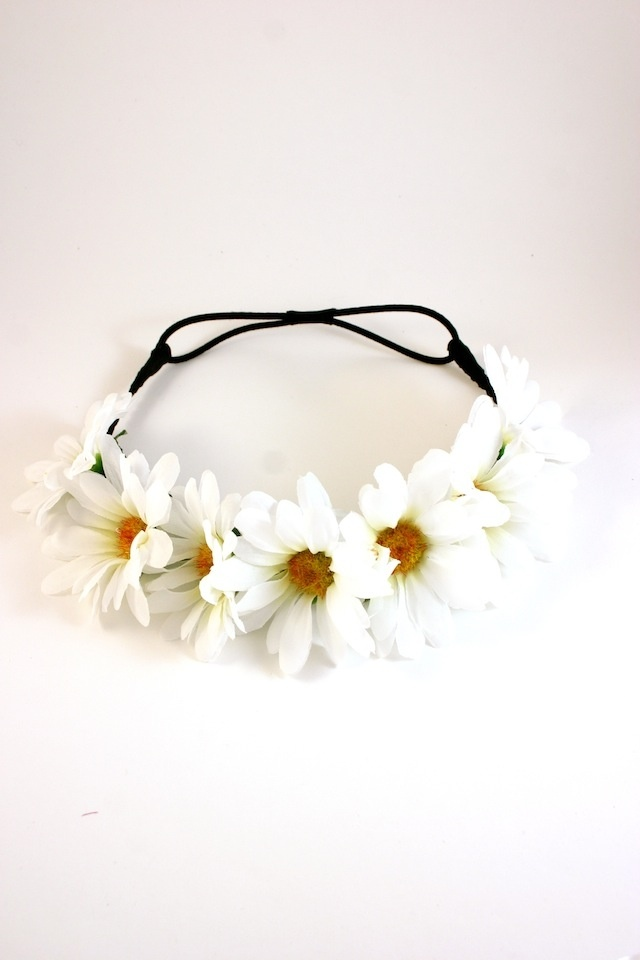 daisy crown headband