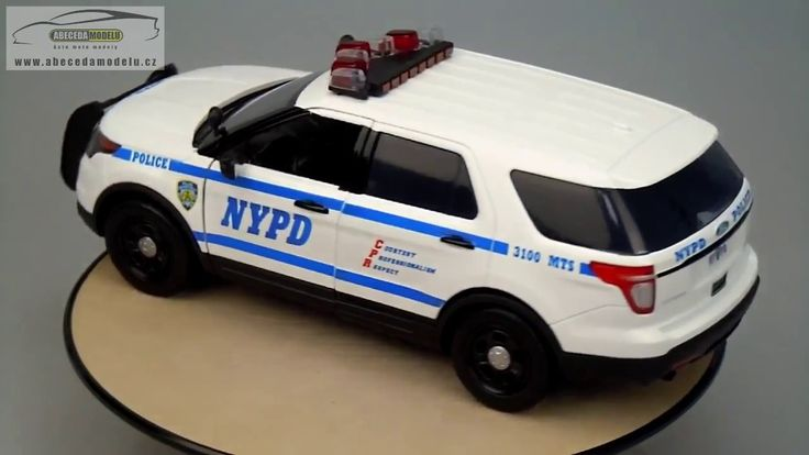 FORD POLICE INTERCEPTOR NYPD 2015 Greenlight 1/18
