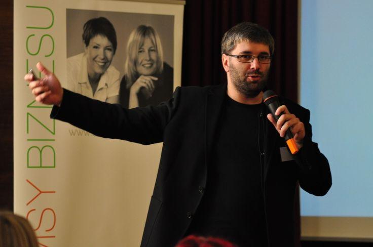 Paweł Tkaczyk at Charms of Business, 2012