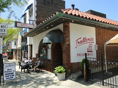 Trattoria On The Hill, one of our favorite restaurants, in Cleveland, Ohio's Little Italy neighborhood.