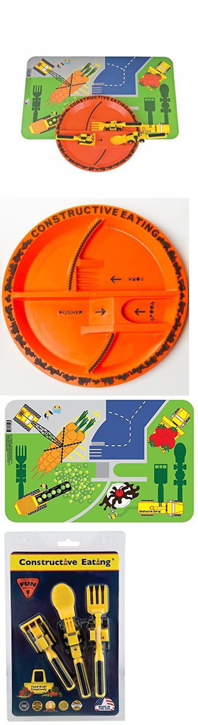 Feeding Sets 117386 Constructive Eating Construction Combo With Utensil Set Plate And Placemat -u003e  sc 1 st  Pinterest & 208 best Feeding Sets 117386 images on Pinterest