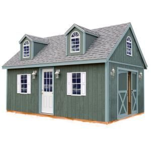 Best Barns Arlington 12 ft. x 16 ft. Wood Storage Shed Kit-arlington_1216 at The Home Depot
