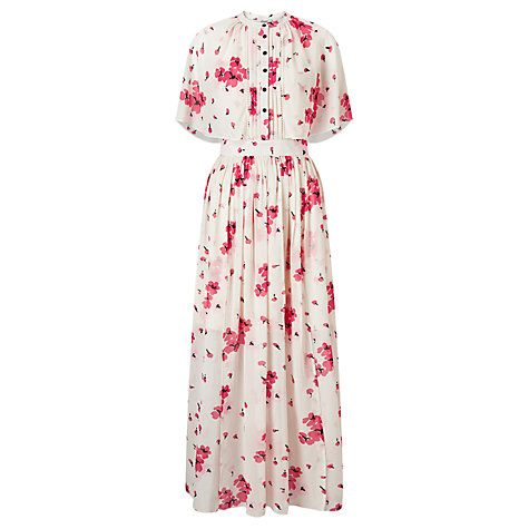Buy Somerset by Alice Temperley Blossom Print Maxi Dress, Pink Online at johnlewis.com