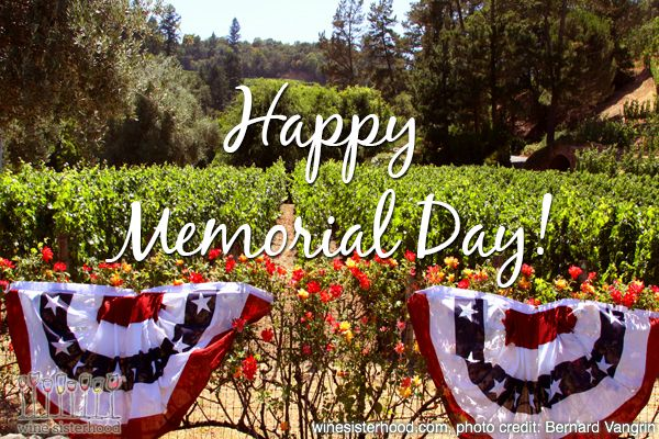 memorial day napa valley