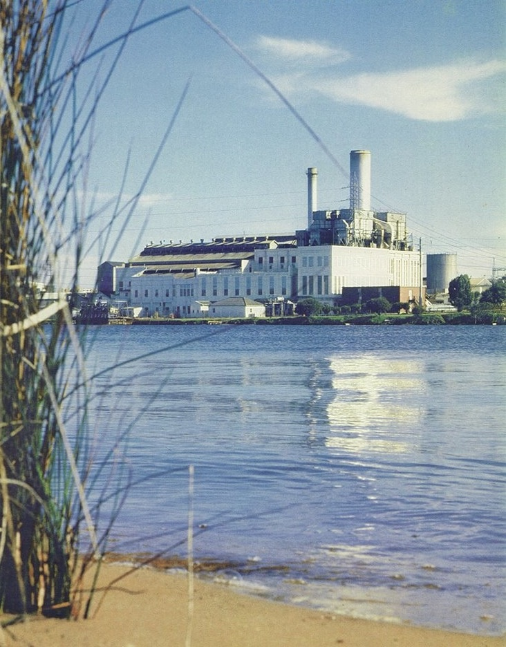 East Perth Power Station, 1981.
