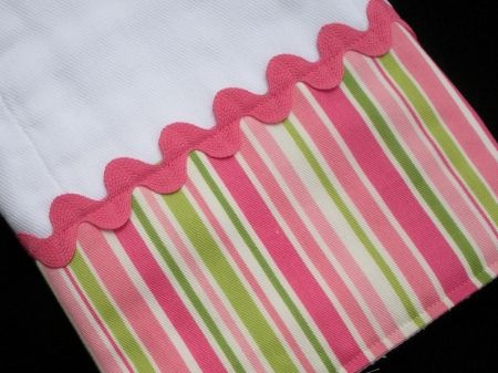 How-To Make Designer-Style Burp Cloths