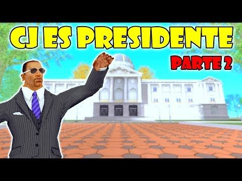 GTA San Andreas Loquendo - CJ es Presidente | Parte 2 - YouTube