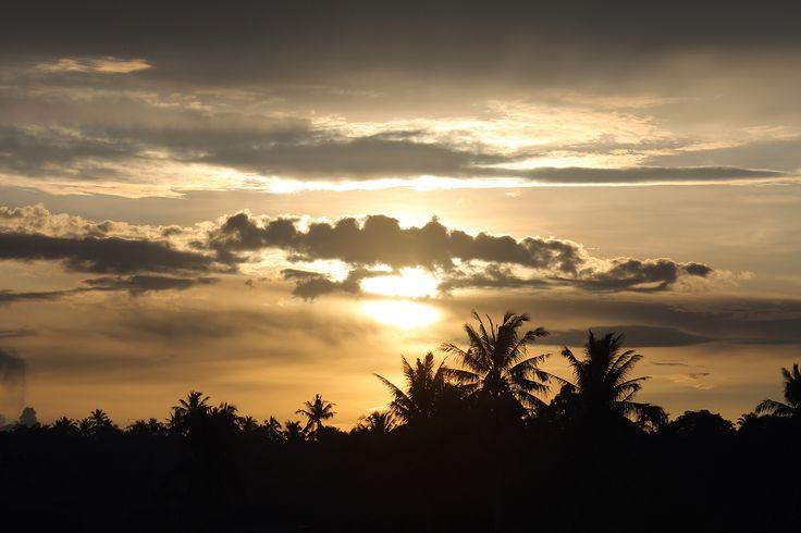 Sunset over Lahewa, North Nias Regency. Nias Island, Indonesia. wPhoto by Bjorn Svensson. ww.northniastourism.com