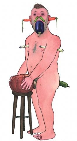 Nikolaus Heidelbach. From Gemüse (Vegetable)  Copyright Dumont Buchverlag