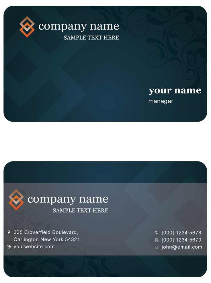 12 best Business Cards images on Pinterest | Editorial design ...