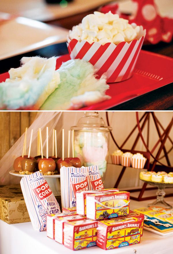 Spectacular Vintage Circus Theme First Birthday