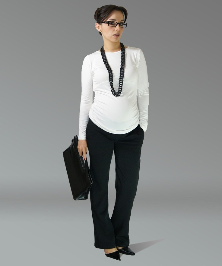 Maternity working outfit