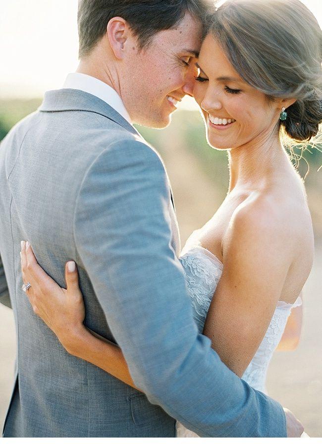 Vineyard wedding, photo: Jose Villa | #wedding #couple #love