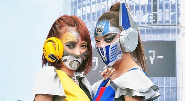 Surgical masks as masks