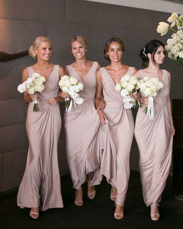 elegant long bridesmaid dresses #bridesmaid #dresses