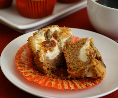 Low Carb Gluten-Free Pumpkin Cream Cheese Muffins http://alldayidreamaboutfood.com/2013/10/pumpkin-cream-cheese-muffins-low-carb-and-gluten-free.html