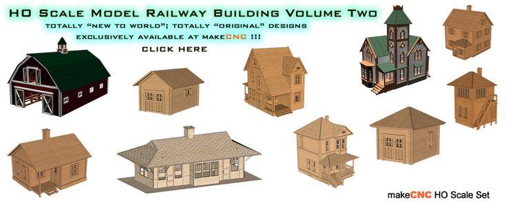 HO Scale Railway Buildings Volume Two