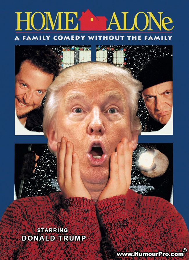 Doanld Trump Home Alone