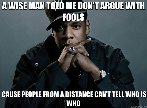 Jay-Z quote about self-reflection
