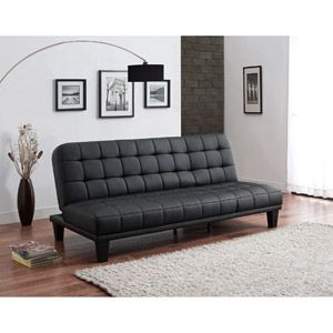 Metropolitan Futon Lounger, Black