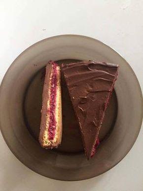 Szénhidrátcsökkentett, meggyes-csokis torta (gluténmentes, tejmentes, paleo recept)