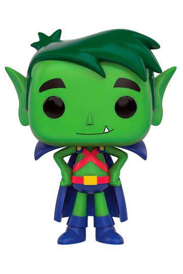 Cabezón Beast Boy as Martian Manhunter 9 cm. Teen Titans Go!. Línea POP! Television. DC Cómics. Funko  Estupendo cabezón de 9 cm del personaje Beast Boy convertido en Martian Manhunter, fabricado en vinilo de alta calidad y 100% oficial y licenciado perteneciente a la serie animada titulada Teen Titans Go!. Es perfecto como detalle o regalo.